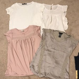 Bundle of 4 tops